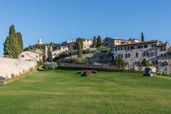 Basilica Di SAN Francesco (ST Francis), Assisi, Ουμβρία, Ιταλία Στοκ εικόνες με δικαίωμα ελεύθερης χρήσης