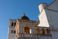 Basilica di San Francesco (St. Francis), Assisi, Umbria, Italy Royalty Free Stock Photos