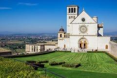 Basilica di San Francisco en Assisi, Italia Fotografía de archivo libre de regalías