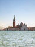 Basilica Di San Giogio Maggiore i Venedig Royaltyfria Foton