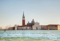 Basilica Di San Giogio Maggiore in Venice Stock Images