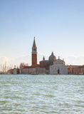 Basilica Di San Giogio Maggiore in Venice Royalty Free Stock Photos