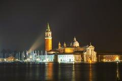 Basilica Di San Giogio Maggiore in Venice Stock Image