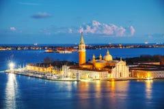 Basilica Di San Giogio Maggiore in Venice Royalty Free Stock Photography