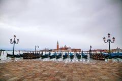 Basilica Di San Giorgio Maggiore en Venecia Imagenes de archivo