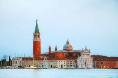 Basilica Di San Giorgio Maggiore en Venecia Fotos de archivo libres de regalías