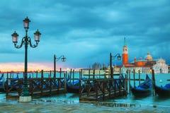 Basilica Di San Giorgio Maggiore en Venecia Foto de archivo libre de regalías
