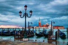 Basilica Di San Giorgio Maggiore en Venecia Fotos de archivo