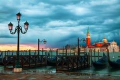 Basilica Di San Giorgio Maggiore en Venecia Imágenes de archivo libres de regalías