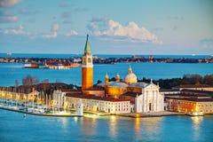 Basilica Di San Giorgio Maggiore en Venecia Fotografía de archivo