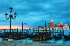 Basilica Di San Giorgio Maggiore en Venecia, Italia Foto de archivo