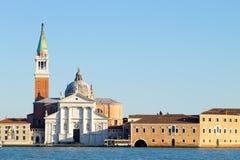 Basilica di San Giorgio Maggiore, Venezia, Italia Fotografia Stock Libera da Diritti