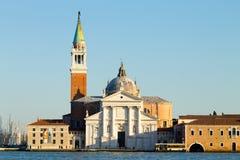 Basilica di San Giorgio Maggiore, Venezia, Italia Fotografia Stock