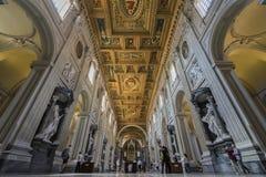 Basilica Di SAN Giovanni σε Laterano Παπικό Archbasilica του ST Στοκ Εικόνες