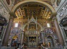 Basilica Di SAN Giovanni σε Laterano Παπικό Archbasilica του ST Στοκ Φωτογραφίες