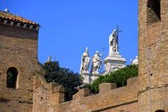 Basilica di San Giovanni in Laterano cathedral church Stock Photography
