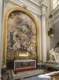 Basilica di San Giovanni in Laterano. Papal Archbasilica of St. John Lateran. Details of interior. Italy. Rome. June 2017 stock photo