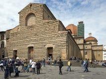 Basilica Di SAN Lorenzo, Φλωρεντία στοκ εικόνες
