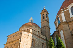 Basilica di San Lorenzo Royalty Free Stock Images