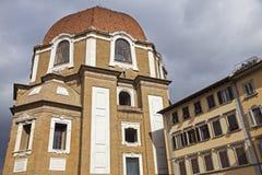 The Basilica di San Lorenzo (Basilica of St Lawrence) in Florenc Stock Photography