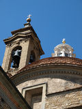 The Basilica di San Lorenzo - Florence Royalty Free Stock Photos