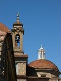 The Basilica di San Lorenzo - Florence Stock Photography