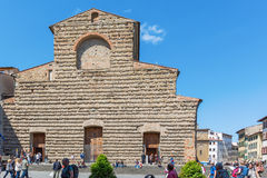 Basilica di San Lorenzo in Florence Stock Photography