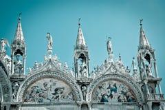 Basilica di San Marco (cool tone) Royalty Free Stock Image