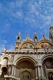 Basilica di San Marco and Doges Palace, Venice Stock Images