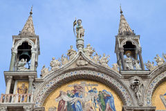 Basilica di San Marco and Doges Palace, Venice Stock Photos