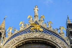Basilica di San Marco facade Stock Photos