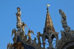 Basilica di San Marco nella città di Venezia, Italia immagine stock