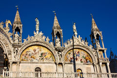 Basilica di San Marco St. Mark's Cathedral Venice Royalty Free Stock Photo