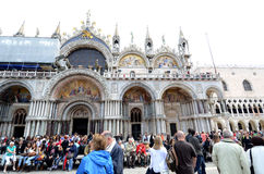 Basilica di San Marco St. Mark's Cathedral Venice Stock Photography