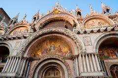 Basilica di San Marco. Venedig. Stockbild
