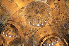 Basilica di San Marco, Venedig stockfotos