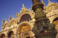 Basilica di San Marco in Venic Stock Images