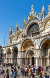 Basilica di San Marco in Venice, Italy Royalty Free Stock Images