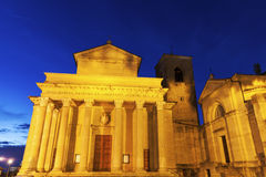Basilica di San Marino Royalty Free Stock Photography