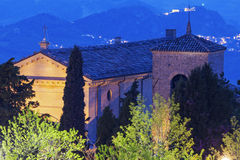 Basilica di San Marino in San Marino Royalty Free Stock Photo