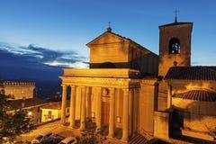 Basilica di San Marino Stock Photos