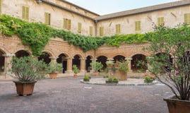 Basilica di San Nicola - Tolentino - l'Italia Immagini Stock