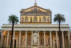 Basilica di San Paolo fuori le Mura Stock Images