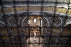 Basilica di San Pedro en Vaticano imagen de archivo libre de regalías