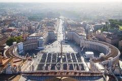 Basilica di San Pedro en Vaticano fotografía de archivo