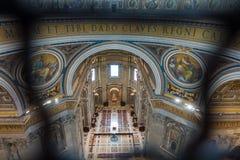 Basilica Di SAN Pietro Βατικανό στην καταπληκτική Ρώμη, Ιταλία Στοκ Φωτογραφίες