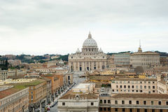 Basilica Di SAN Pietro, πόλη του Βατικανού Στοκ Φωτογραφίες