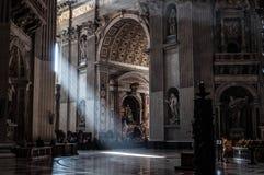 Basilica di San Pietro fotografia stock
