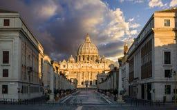 Basilica di San Pietro. Rome. Italy. royalty free stock photography