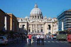 Basilica di San Pietro in Vatican Stock Photo